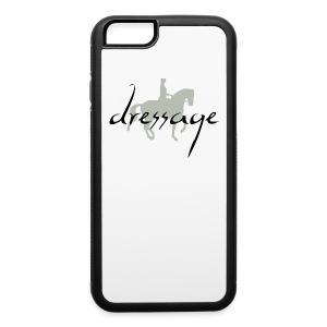 Dressage Piaffe Horse & Rider - iPhone 6/6s Rubber Case