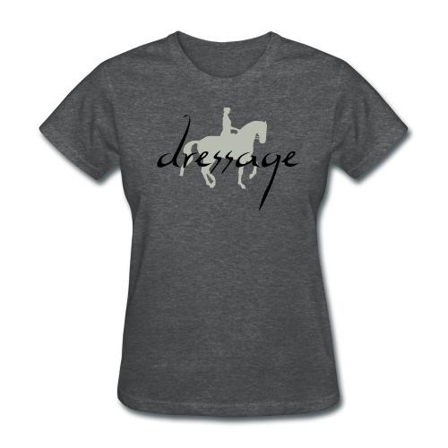 Dressage Piaffe Horse & Rider - Women's T-Shirt