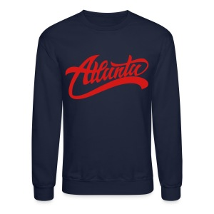 Atlanta Crewneck By YRL Clothing Co - Crewneck Sweatshirt