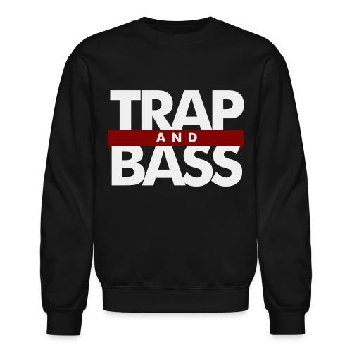 Trap and Bass Mens Crewneck Sweatshirt - Crewneck Sweatshirt