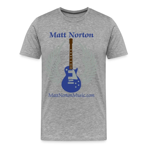 Matt Norton Winged Guitar Premium T-Shirts - Men's Premium T-Shirt