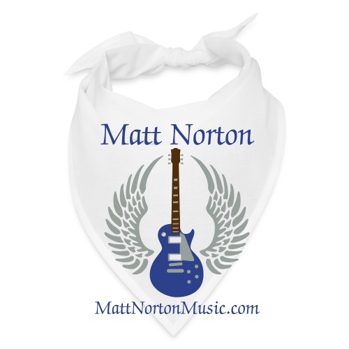 Matt Norton Winged Guitar Bandanna  - Bandana