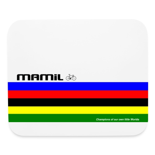 Mamil My Own World Champion Mouse Mat - Mouse pad Horizontal
