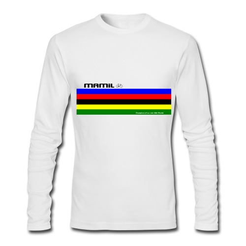 Mamil My Own World Champion Long Sleeve - Men's Long Sleeve T-Shirt by Next Level
