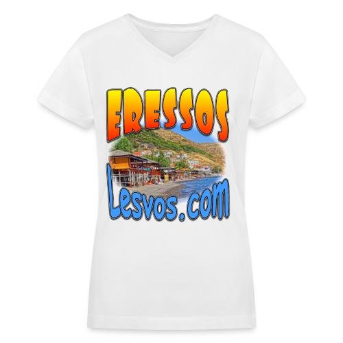 Eressos V-neck (women) - Women's V-Neck T-Shirt