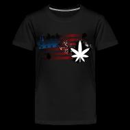 Kids' Shirts ~ Kids' Premium T-Shirt ~ Weed Flag