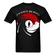 T-Shirts ~ Men's T-Shirt ~ James Bong