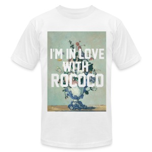 I'm In Love With Rococo - Men's T-Shirt by American Apparel