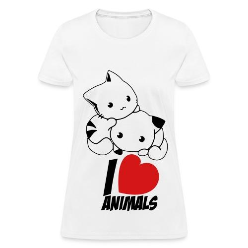 Chibi neko - Women's T-Shirt