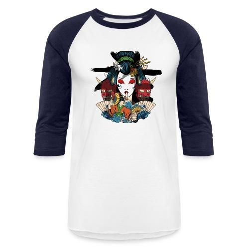 Oni geisha - Baseball T-Shirt
