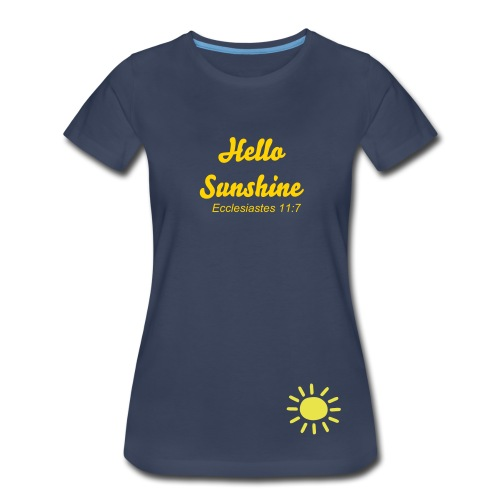 Think Happy Thoughts - Women's Premium T-Shirt
