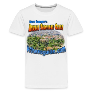 Athens  Guide Temple (kids) - Kids' Premium T-Shirt