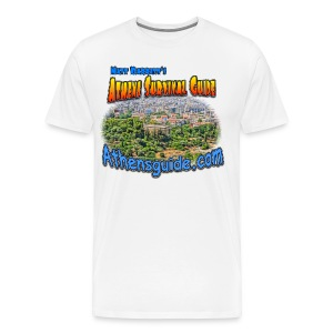 Athens Guide Temple (men) - Men's Premium T-Shirt