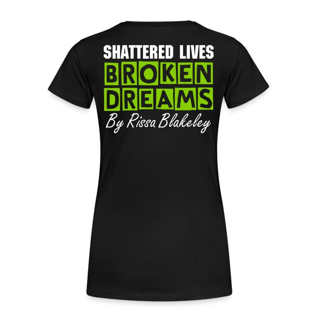 Broken Dreams Elaina Quote Tee (Plus Available)