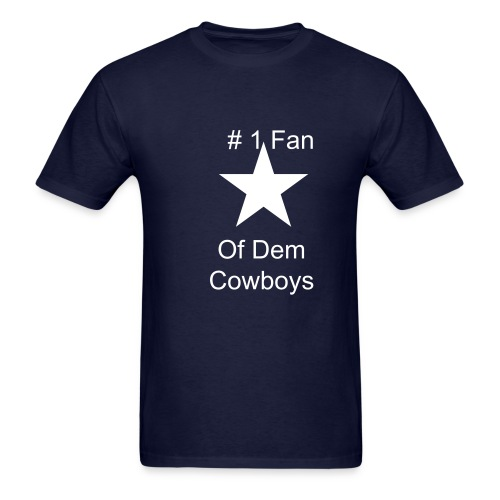 Cowboys Men Tshirt - Men's T-Shirt