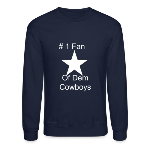 Cowboys Blue Sweatshirt - Crewneck Sweatshirt