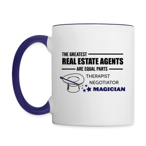 Therapist Negotiator Magician mug right - Contrast Coffee Mug