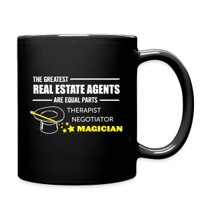 Therapist Negotiator Magician BMug left - Full Color Mug