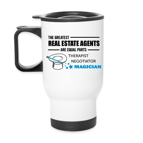 Therapist Negotiator Magician travel right - Travel Mug