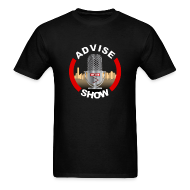 T-Shirts ~ Men's T-Shirt ~ Advise Show Logo