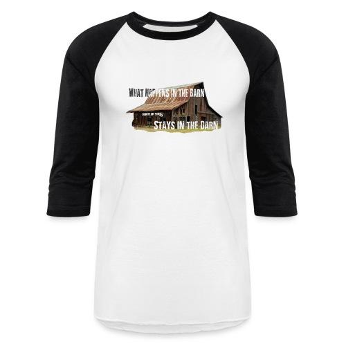 Barn 3/4 sleeve - Baseball T-Shirt
