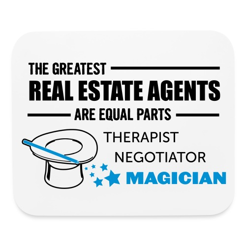 Therapist Negotiator Magician pad - Mouse pad Horizontal
