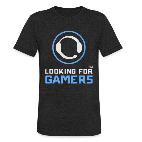 LFGamers T-Shirt - Dark - Mens - Unisex Tri-Blend T-Shirt