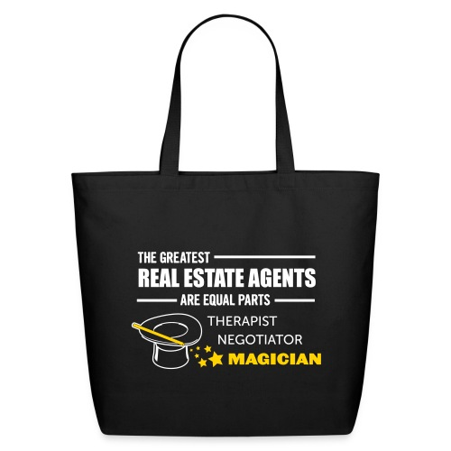Therapist Negotiator Magician bigtote - Eco-Friendly Cotton Tote