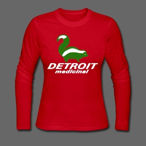 Medicinal Detroit - Women's Long Sleeve Jersey T-Shirt
