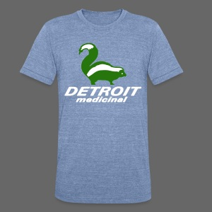 Medicinal Detroit - Unisex Tri-Blend T-Shirt by American Apparel