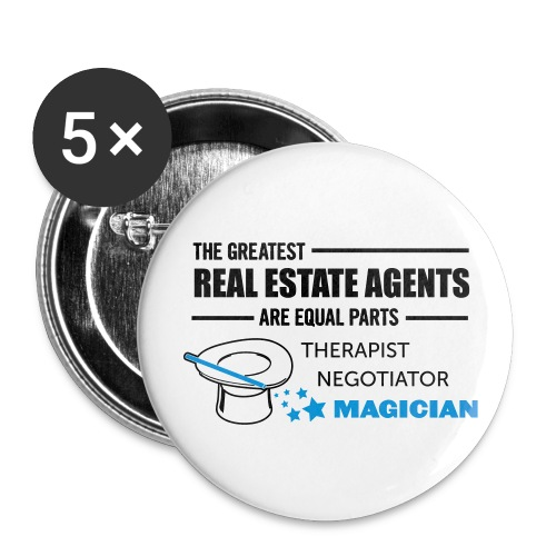 Therapist Negotiator Magician 2.25 - Large Buttons