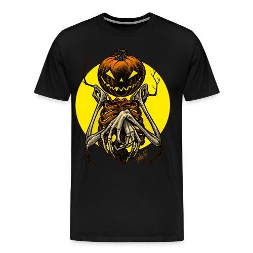 Autumn People 7: Pumpkin | Men's T-Shirt - Men's Premium T-Shirt