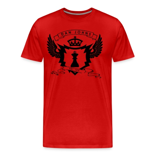Alpha Writer Men's T-Shirt - Men's Premium T-Shirt