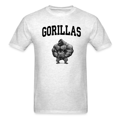 The LIST 360 Animal Testing - Gorilla - Men's T-Shirt