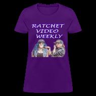 T-Shirts ~ Women's T-Shirt ~ Women's Ratchet Video Weekly Logo