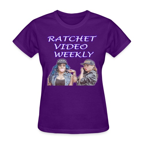 Women's Ratchet Video Weekly Logo - Women's T-Shirt