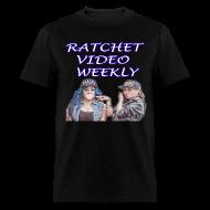 T-Shirts ~ Men's T-Shirt ~ Ratchet Video Weekly Logo