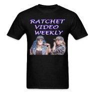 T-Shirts ~ Men's T-Shirt ~ Ratchet Video Weekly Logo
