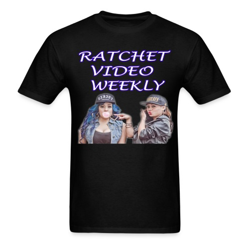 Ratchet Video Weekly Logo - Men's T-Shirt