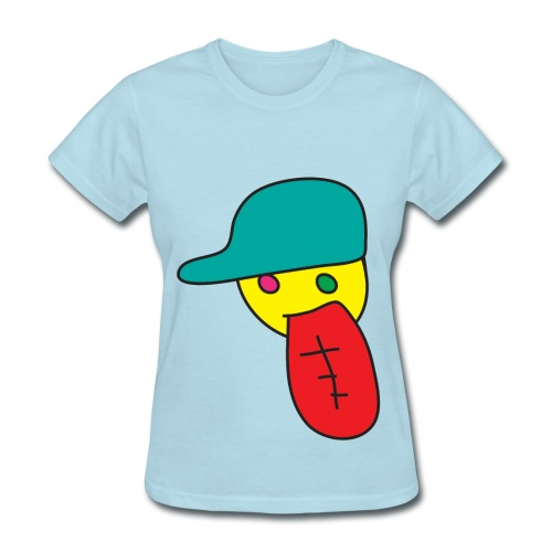 large dope face lady - Women's T-Shirt