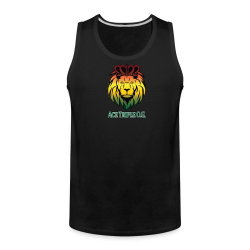 Boss Playa Ace Tripple OG Black Premium Tank Top - Men's Premium Tank