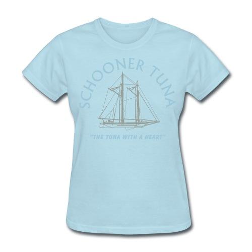 Schooner Tuna (Women's) - Women's T-Shirt