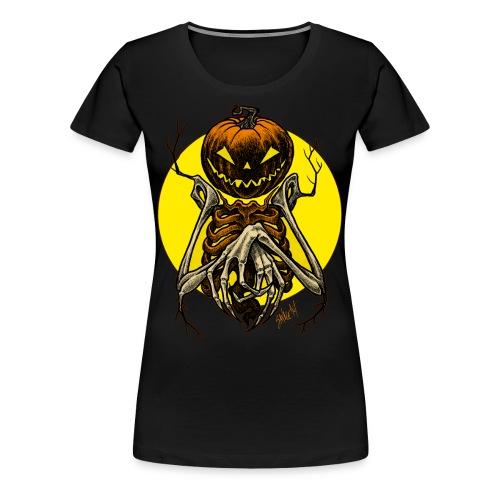 Autumn People 7: Pumpkin | Women's T-Shirt - Women's Premium T-Shirt