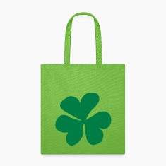 Clover, Clover leaf, Shamrock Bags & backpacks