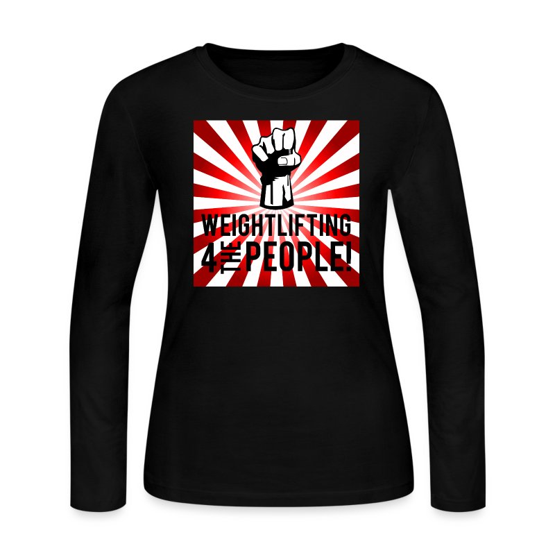 Women's Long Sleeve For The People - Women's Long Sleeve Jersey T-Shirt