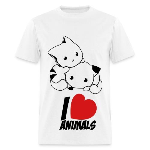 Chibi neko - Men's T-Shirt