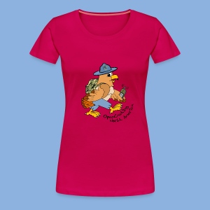 Hank The Hawk 1st Edition Women's Premium T-Shirt - Women's Premium T-Shirt