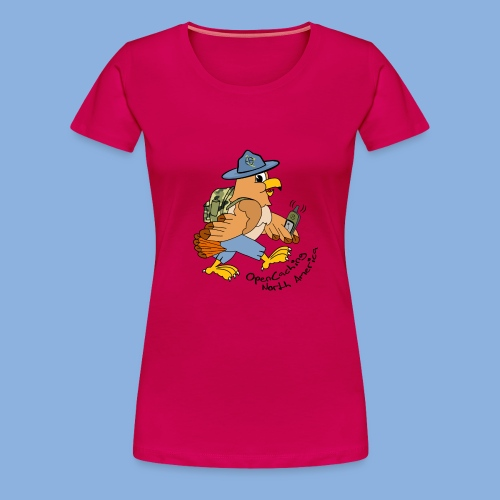 Hank The Hawk 1st Edition Women's Premium T-Shirt - Women's Premium T-Shirt