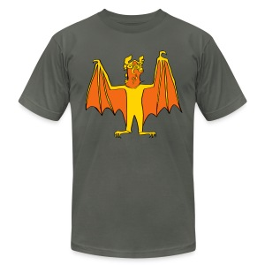 Men's Demon Bat shirt - Men's Fine Jersey T-Shirt