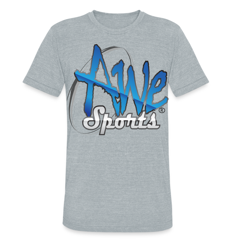 547_Awe-Sports.png - Unisex Tri-Blend T-Shirt by American Apparel